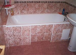 линолеум в ванную комнату фото