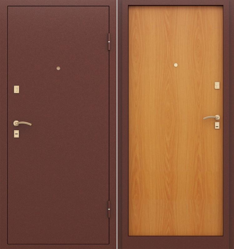 железная дверь стандарт цены