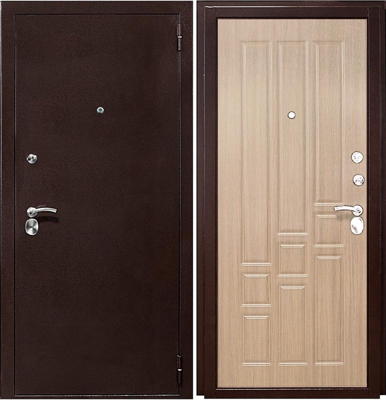 железная входная дверь ламинированные с установкой недорого в москве