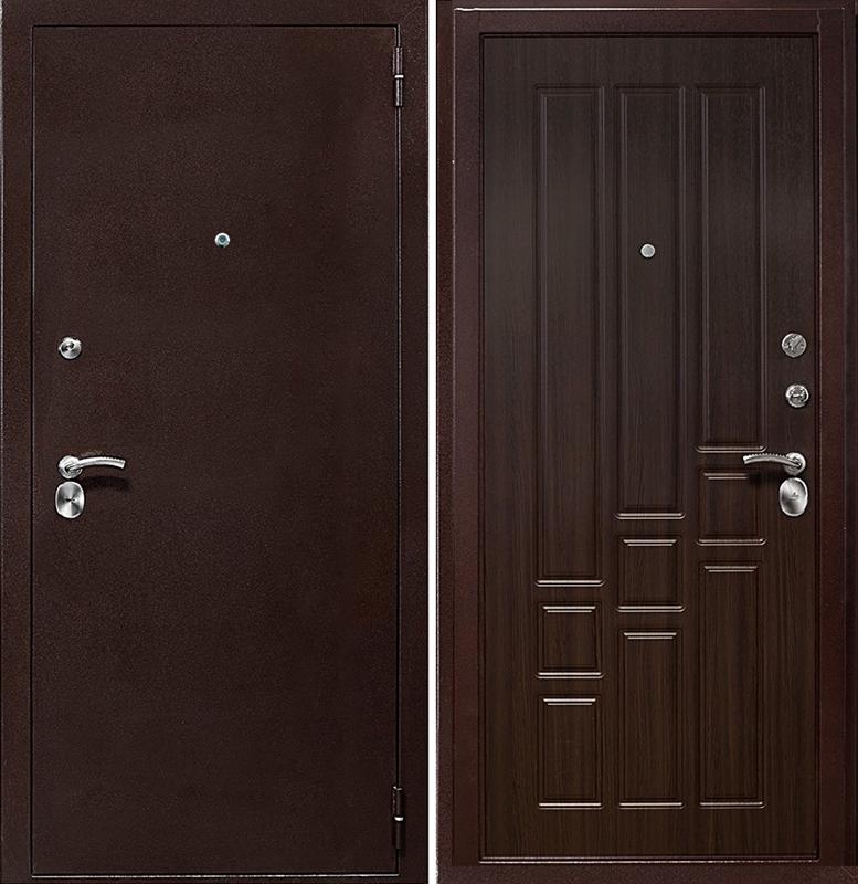 металлические входные двери в дом серпухов