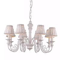 Люстра Arte Lamp Villaggio A3400LM-8WH